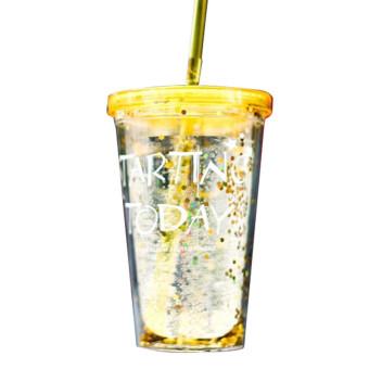 Harga 360dsc Innovative Amusing Lidless Spin Cup With Straw Grey - Perlengkapan & Peralatan Olahraga .