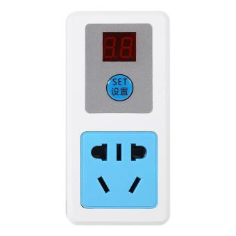 Electrical AC Digital Energy-saving Timer Switch Socket (24 Hours) - intl
