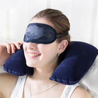 Tiup berbentuk U bantal kepala bantal leher mobil lain untuk perjalanan udara Angkatan Laut