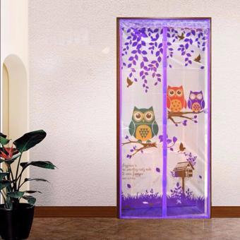 Harga ANGEL Magic Mesh Tirai Magnet Anti Nyamuk Motif Owl Tirai Pintu Magnet