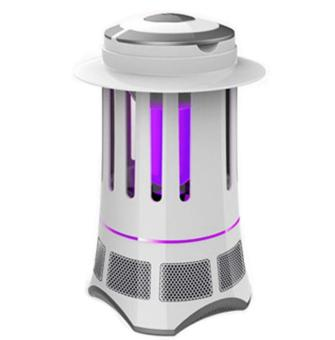M'SIA PLUG ! Eco-Friendly UV LED Mosquito Killer Lamp Trap Repellent (White)