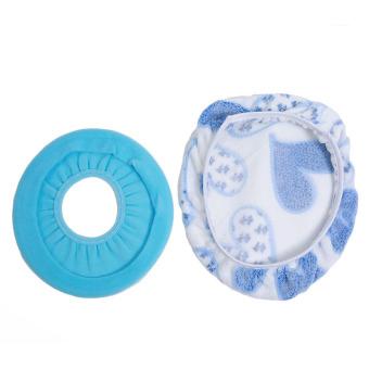 Harga HengSong Closestool Jantung Penutup Atas + Cincin O Tikar Tempat Duduk Toilet (Biru)