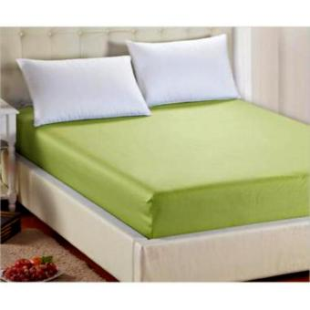 Harga Jaxine Sprei Waterproof/Anti Air 180x200x20cm Warna Army Green