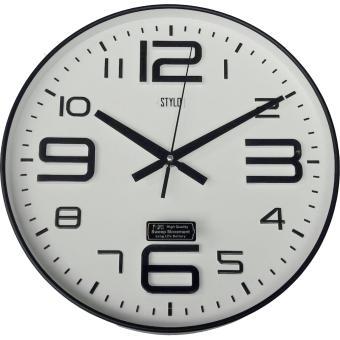 Cek Harga Baru Jam Dinding Angka Timbul Stylo 361 1 Putih Terkini ... e5d1f8715a