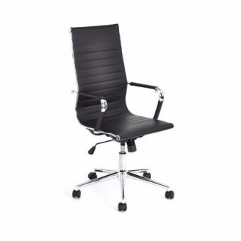 JYSK OFFICE CHAIR POKORORO 54X60X116CM BLACK