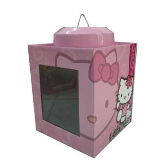 Kaleng Kerupuk Mini Karakter Hello Kitty Ukuran 11 x 13 cm