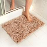 ... Keset Cendol Dof Mocca 40 x 60 cm karpet bulu / doormat chenille Cream - 3 ...