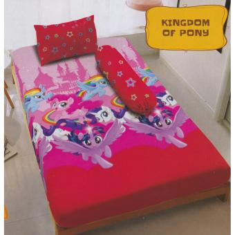 Kintakun Dluxe Kingdom of Pony Sprei Set Single 120x200x20cm