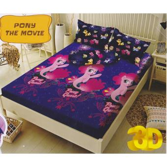 Kintakun Dluxe Pony The Movie Sprei Set 180x200x20cm (King Size)