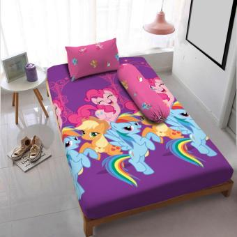 Kintakun Dluxe Sprei Uk.120 x 200 Motif Classic Little Pony