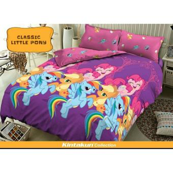 Kintakun Dluxe Sprei Uk.180 x 200 Motif Classic Little Pony