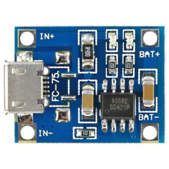 Kit Power Bank Li-ion Charger Modul 5V 1A TP4056 - 5 Pcs