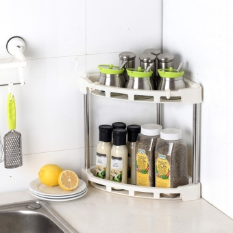 Kitchen shelf seasoning rack tripod storage rack - intl