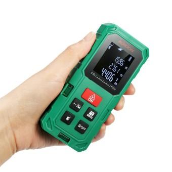 KKmoon 100 M Portable Genggam Digital Pengukur Jarak Laser Meter Presisi Tinggi Range Finder Panjang Area