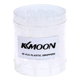 Product Comparison KKmoon 25 Buah/100 Buah Airbrush Pipis Mata Tetes Pipet Plastik Sekali Pakai For Transfer Cair And Airbrush Cat Models and Prices