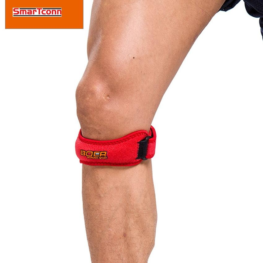 Hot Deals Bantalan Lutut Dukungan Bola Keranjang Sport Outdoor Patella Belt Bersepeda  Pelindung Lutut Mountain Bike 81fa6c8353