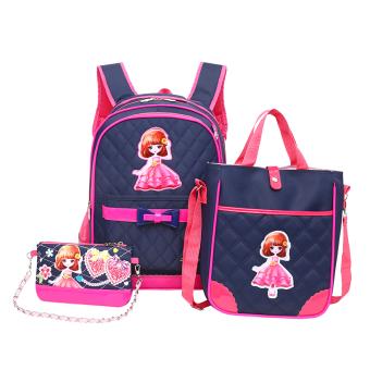 Korea Fashion Style tahun gadis berusia tas ransel tas sekolah