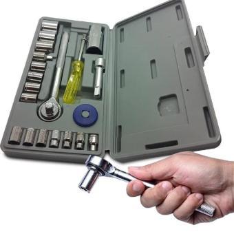Kunci Sok 21 Pcs / Kunci Sock Set 21 Pcs / Socket Wrench Set 21Pcs