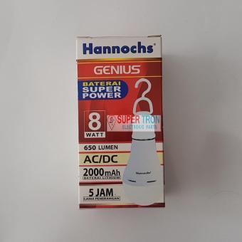 Lampu LED AC/DC Hannochs Genius 8 Watt