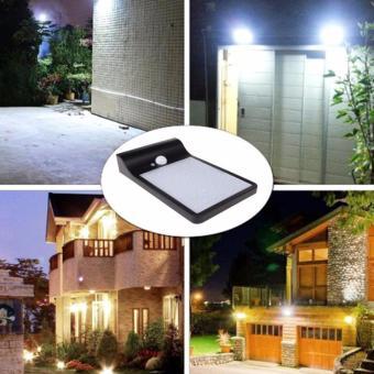 Lampu Outdoor / Taman / Dinding 36 LED Tenaga Matahari / Solar Cell Sensor Motion .