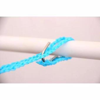 Best Price LARIS49 Tali Jemuran 5 meter Serbaguna / Baju Handuk Hanger - Gantungan Baju HIJAU