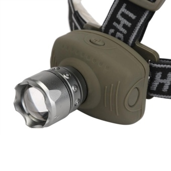 LED Headlamp Headlight Flashlight Head Light Lamp Torch - intl