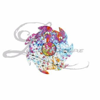 Lucky Hand Fidget Spinner Whirlwind Spiner Tornado Rainbow Abstrak Hand Toys Focus Games .