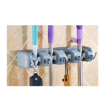 Magic hanging mop holder mop hanger 3 gantungan sapu & alat pel HPR078