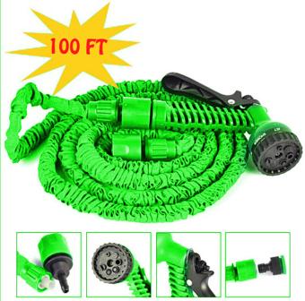 Magic X hose Auto Expandable 30 m Selang Air Fleksibel Hijau .