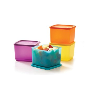 Tupperware Medium Summer Fresh 4 pcs - Kotak Makan