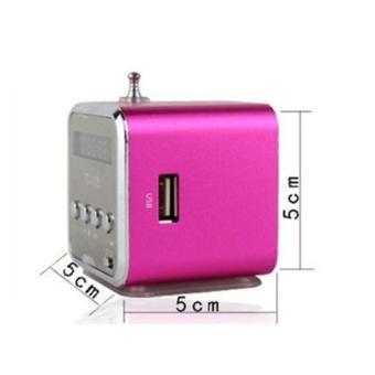 Micro SD TF USB Mini Stereo Bass Speaker Music Player FM Radio PC MP3/4