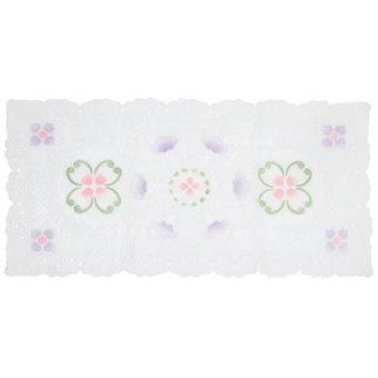 Mitra Loka - Taplak Meja Square 86x42cm Vintage - Putih
