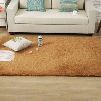 Karpet Sutra Segi Empat Modern Ruang Tamu Meja Kopi Sofa Karpet Nakas Tempat Tidur-Internasional