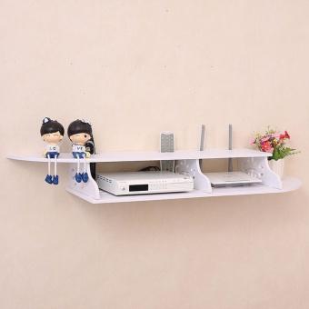 Multifunction Floating Rack 2 Layer - Rak Dinding serbaguna 2 Susun