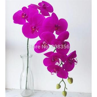 Naindo - Bunga Anggrek Artifisial-hiasan ruang tamu dan kantor-bunga palsu-  bunga 4c1f3cb576
