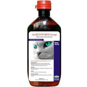 NDpets - Obat Cacing Kucing Cair Albenworm