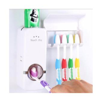 Neo Dispenser Odol Toothpaste Dispenser & Brush Set DispenserOdol Pasta Gigi Dan Tempat Sikat Gigi