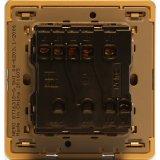 Detail Gambar Nero Saklar Decora Q7-G Q71631D-G - Gold Terbaru