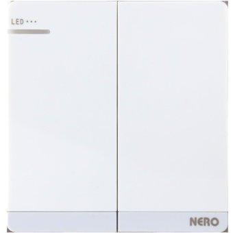 Nero Saklar Decora Q7-W Q71622D-W - White