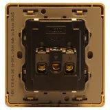 Detail Gambar Nero Stop Kontak Decora Q7-G Q710UU-G - Gold Terbaru