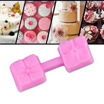 New Silicone 3D Rose Flower Fondant Cake Chocolate Sugarcraft MouldMold Tools - intl