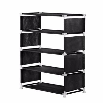NINE BOX - Rak Sepatu Minimalis 5 susun/Rak sepatu portable/Rak serbaguna 5