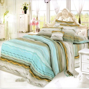 Nyenyak Sprei Queen Motif Electric 160x200 cm