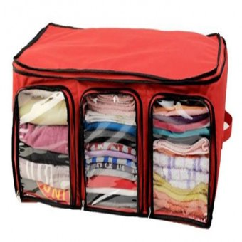 Organized Living Clothes Organizer - Merah