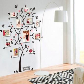 Oscar Store Tas Bingkai Foto Pohon Rumah Dinding Living Bedroom Decals Dekorasi Sofa-Internasional