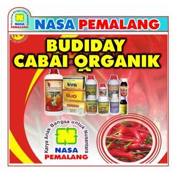 Paket Pupuk Budidaya Cabai Organik Nasa ( Glio + Supernasa + Power Nutrition + Poc Nasa
