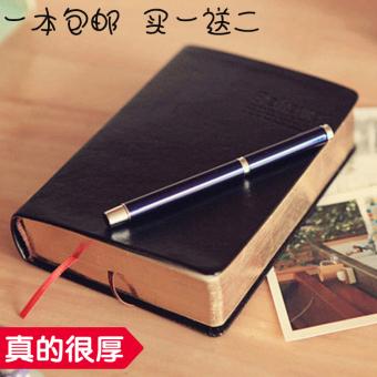 Percaya Buku Tulis Kulit Seri Sangat Lebar Buku Catatan Bisnis