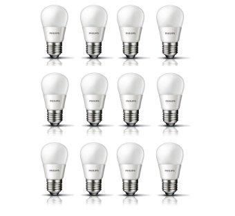Philips LED Bulb - 3.5W - 12 Pcs - Kuning