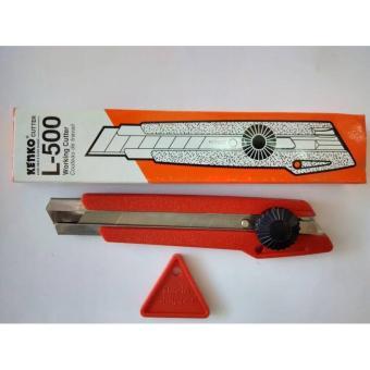 Pisau Cutter Kenko L 500/ cutter Besar /perlengkapan kantor