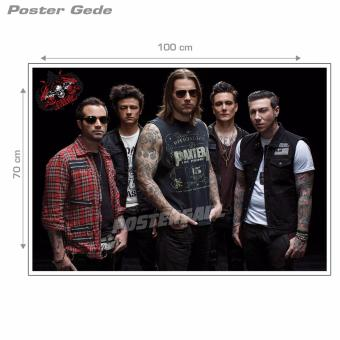 Poster Gede: Avenged Sevenfold #51B - 70 x 100 cm